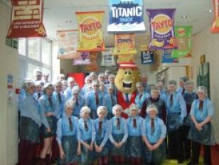 Year 9 Pupils visit the Tayto Factory