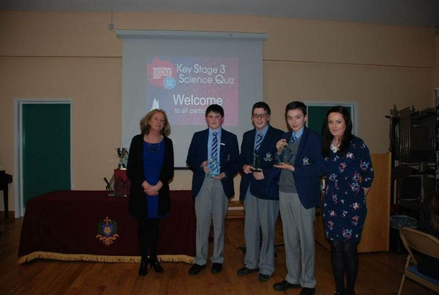 Second Place St Colmans College Newry