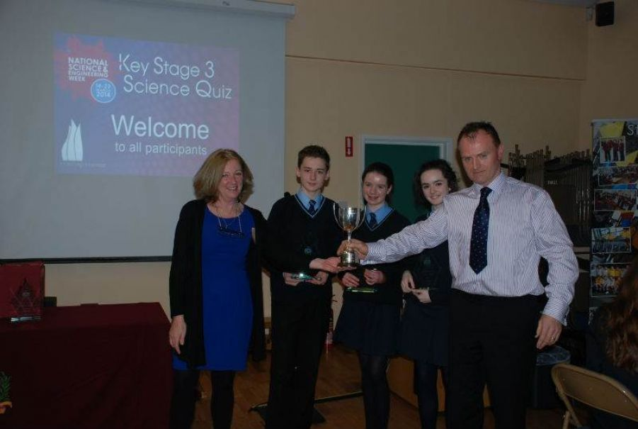 Science Quiz Winners St Patricks Academy Dungannon