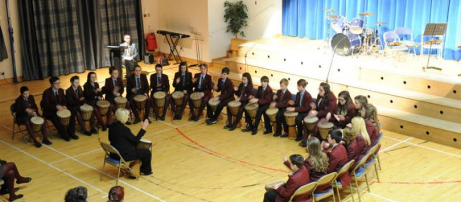 Spring Concert 2014 with African Drums